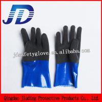 China JD888 Heavy Duty Industrial Gloves Nylon Safety Gloves on sale