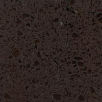 China Dark Brown Quartz Kitchen Countertops Thickness 2cm And 3cm Slab Size 3.2*1.6m wholesale
