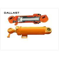 China Flange Hydraulic Cylinder for Engineering Machine , Double Acting Hydraulic Cylinder wholesale