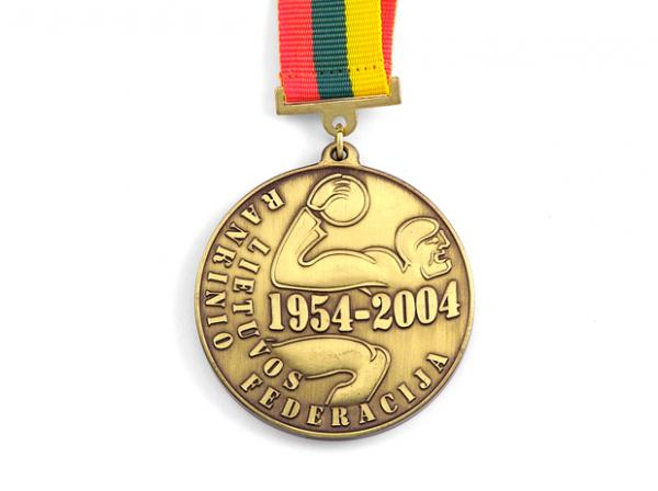 Custom Made Blank Medals with Ribbons