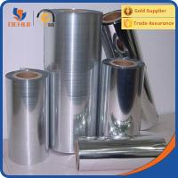 China Electrical Insulating Colored Rigid Transparent Metalized PET Film wholesale
