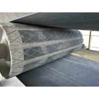 China Prevent conveyor belt from slipping head pulley rubber removable slide lagging wholesale