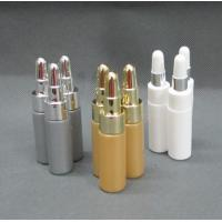 China 6ml Golden Silver White Color Portable Squeezable Essence PE Bottle For Person Care wholesale
