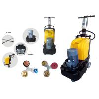 Small Disc Granite Marble Floor Polisher Machine For Stone Grinding 0 - 1500 rpm