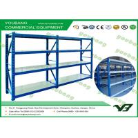 China Cold Rolling Steel Reliable Warehouse Storage Racks / industrial pallet shelving on sale