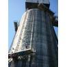 China Solo palo plataformas de trabajo del palo de la capacidad de 1000 kilogramos que suben para la altura de funcionamiento 150 m wholesale