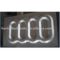 Casting metal plate processing