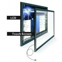China 21.5 inch Black Android Advertising Display with camera , customized wholesale