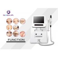 China Portable Face Lift Hifu Machine For Wrinkle Removal 4.0mhz Frequency 5 - 25mm Length on sale