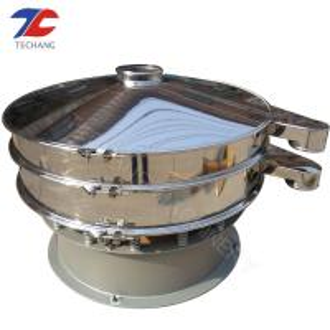 China Silicone GypsumRotary Vibrating Screen 220V - 380V Coal Chemical Powder wholesale