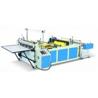 China Blue Color Non Woven Fabric Cutting Machine , Pp Spunbond Nonwoven Fabric Machine wholesale