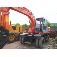 China Used Hitachi wheel excavator Hitachi EX100WD for sale on sale