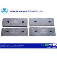China Wear resistant Ni-hard Cast Iron Liners used in Cement Mills and Mining Equipment on sale