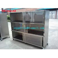 China Stainless Steel 304 SMT Stencil Printer Trolley Customized For Led Aseembly Line wholesale