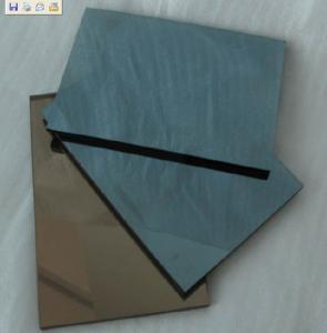 China tamaño máximo verde claro, vidrio reflexivo solar de 3048 * de 5000m m del azul de océano para los hoteles wholesale
