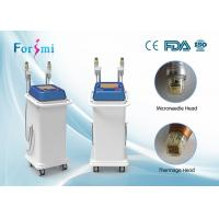 China advanced auto delivery tech 5MHz rf fractional micro needle and superfacial thermage machine wholesale