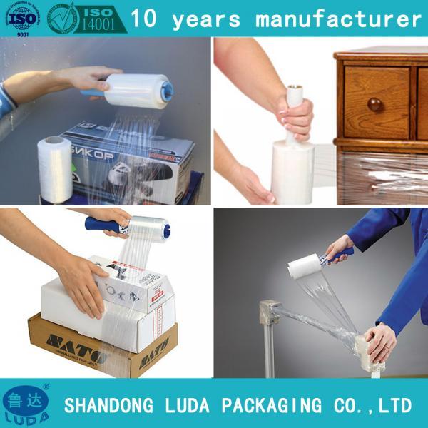 Quality Wood Pallet Wrap Film Pallet Wrapper Plastic Film for sale