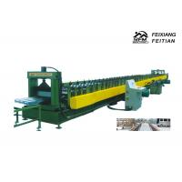 China Galvanized Floor Deck Roll Forming Machine With 8 - 10/Min Working Speed wholesale