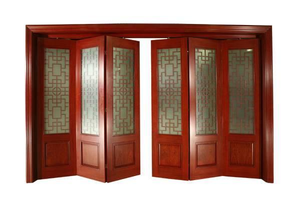 Unfinished Wood Bifold Doors : Folding doors solid wood