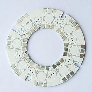 China OEM 2 - 16 ( layers ) Aluminium core LED HASL lead free LED Mcpcb Fabrication Service wholesale
