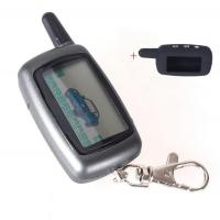 China Russia Version Case Keychain For Starline A9 LCD Remote 2 Way Two Way Car Alarm System With Logo wholesale