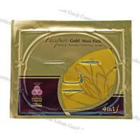 China Anti Ageing 24k Golden Face Mask With Nano Active Gold For Skin Tighten wholesale