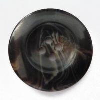 China Heavy Metal and Phthalate-free Polyester Resin Button, Available in Various Styles wholesale