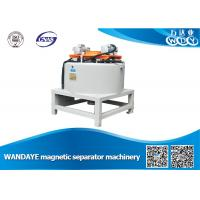 China Automatic 3T Dry Magnetic Separator With Water / Oil Double Cooling wholesale