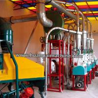 China 20 ton capacity maize milling machine small scale yellow maize corn flour milling machine for sale on sale