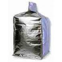 China Customized size Foil / poly liner - inserted at top bulk bag , form fit Shape wholesale