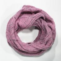 Buy cheap 100% acrylic knitting neck scarf in cable stitch from wholesalers