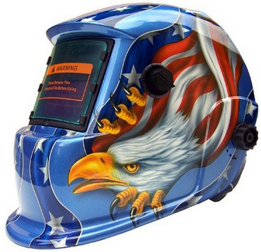 Quality Adjustment Solar Lightweight Auto Darkening Welding Helmet / Mask for sale