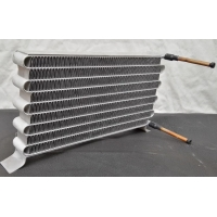 China Louver Serrate Shelled Microchannel Heat Exchanger For Ice Making Machine wholesale