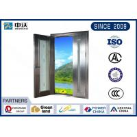 China Color Optional Stainless Steel Fire Rated Doors For High - Level Places wholesale