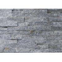 China Grey Cultured Ledge Quartzite Stone Veneer For Exterior And Interior Wall on sale