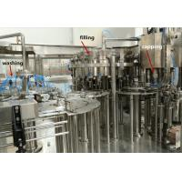 China Commercial Isobaric Washing Filling Capping Machine For Carbonated Beverage wholesale
