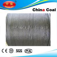 China Stainless, PVC Coated / galvanized, ungalvanized steel wire rope wholesale