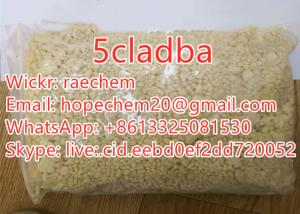 China Buy 5cladba Raw Research Chemical Yellow Powder us warehouse 3 days delivery on sale