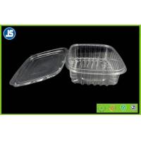 China Salad Clear Plastic Food Packaging Trays / thermoformed plastic trays wholesale