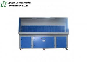 China 1500m³/H 8000m³/H Air Flow Downdraft Tables Grinding Dust on sale