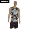 Buy cheap Custom Logo Printing Reversible Dri Fit Mesh Basketball Jersey from wholesalers
