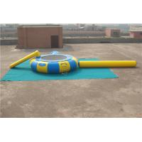 China Fire Resistance Inflatable Water Games Floating Water Trampoline High Performance on sale