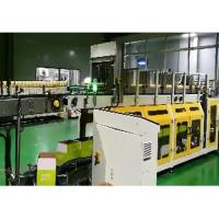 China PLC Wrap Around Plastic Bottle Packaging Machine With LCD Touch Screen wholesale