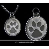 China Round Paw Dog Pet ID Tags Disc Dog tag or Cat tag Engraved Custom LOGO on sale