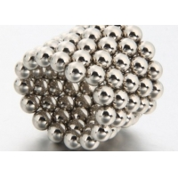 China Round Ball 10mm 20mm Neodymium Magnet Toys on sale
