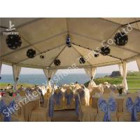 China White and Blue Top Lining Outdoor Party Tents Structure, aluminum profile wholesale