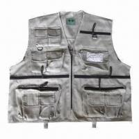 China Fishing Vest, Made of Polyester, Customized Sizes are Accepted wholesale