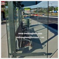 China Tempered Glass for Advertising Display Bus Stop Shelter wholesale