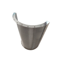 China 0.73mm Slot 8*8mm Strengthen Bar Wedge Wire Screen Filter Stainless Steel 304 wholesale
