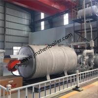 China 1400kw Horizontal Gas Oil Fired Thermal Oil Heaters For Hot Oil Heating Systems wholesale